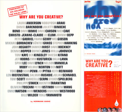 Why Are You Creative? book cover images