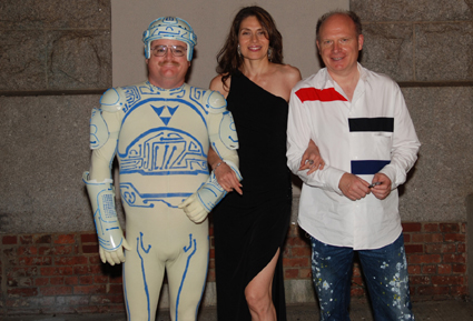 Tron Guy, Maria Angelica Figueredo and Hermann Vaske