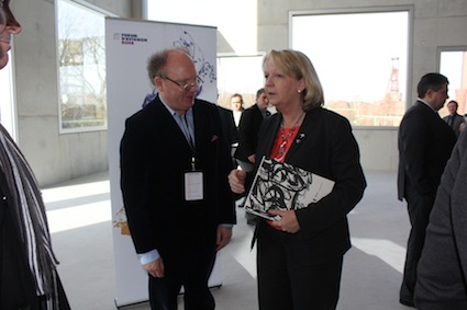 Hermann Vaske and Hannelore Kraft