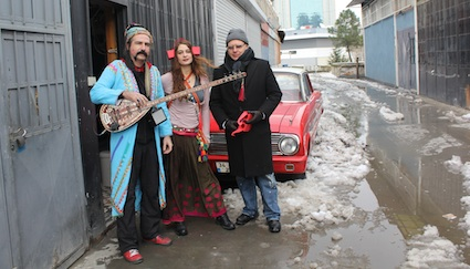 Hermann Vaske and Baba Zula in Istanbul