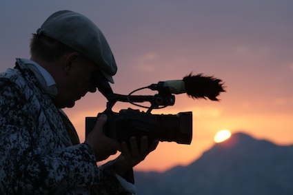 Hermann Vaske films Balkan Spirit sunset.