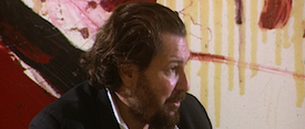 Still of Julian Schnabel interview