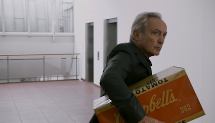 Udo Kier steals a Warhol in Cologne's Museum Ludwig