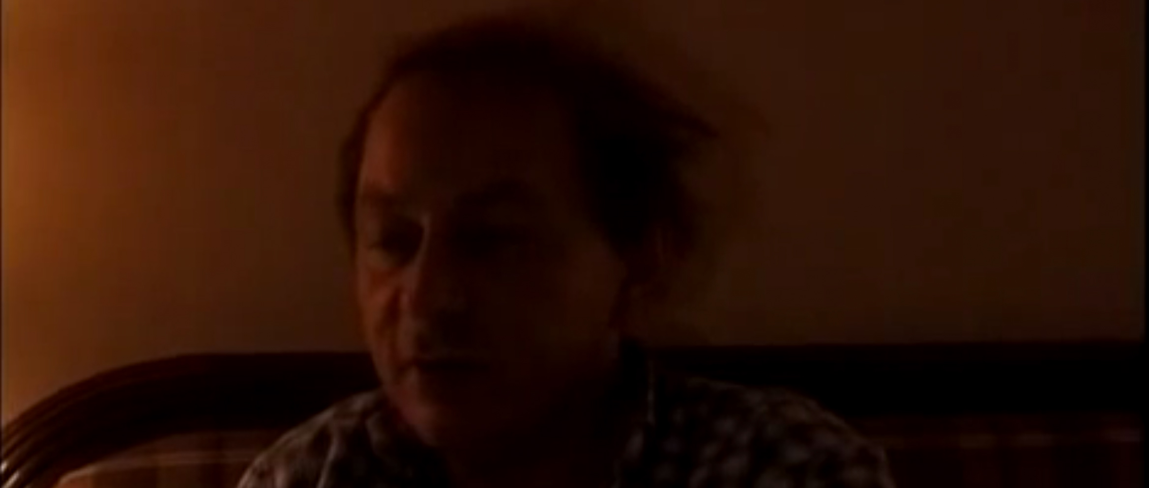 Still of Michel Houellebecq interview