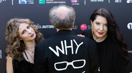 "Still of Venice 2018 ""Why Are We Creative"" interview"