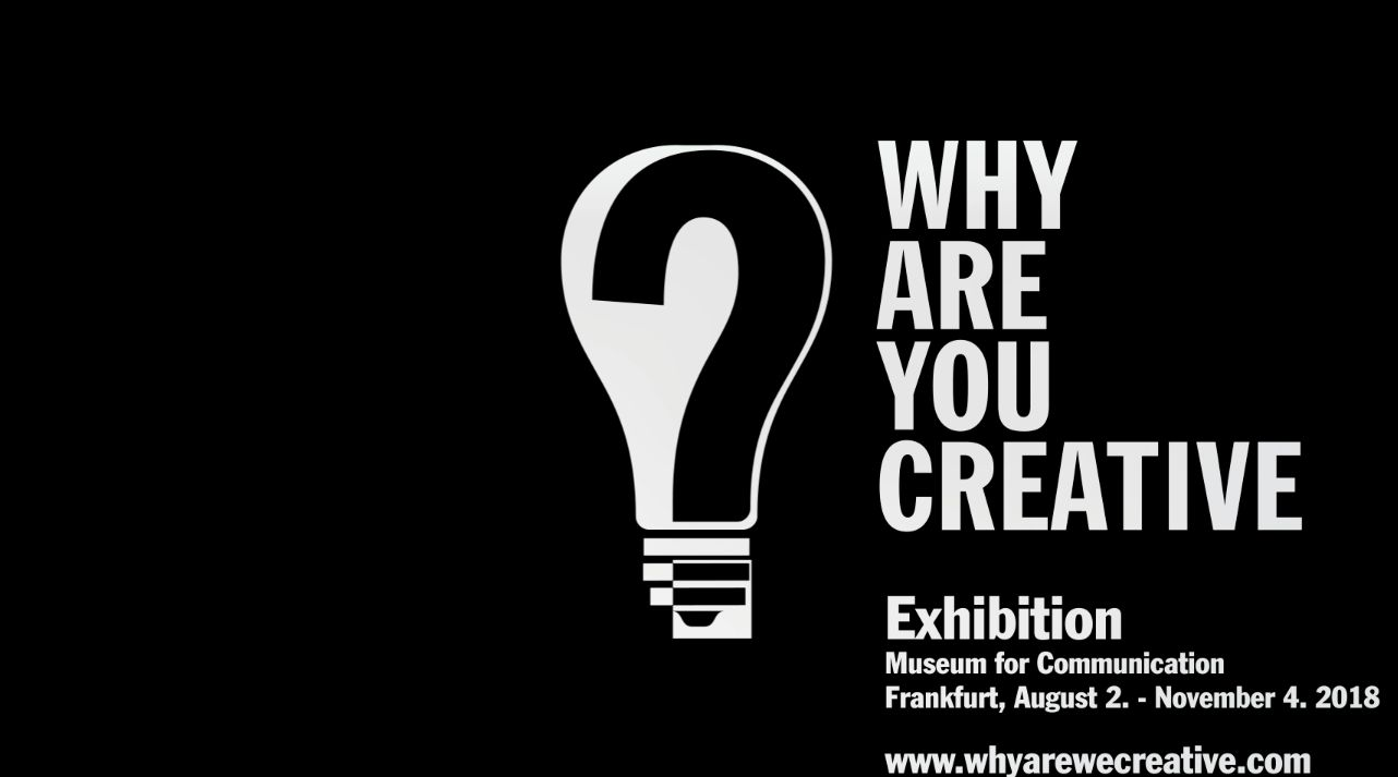 Still of WHY ARE YOU CREATIVE Exhibition interview