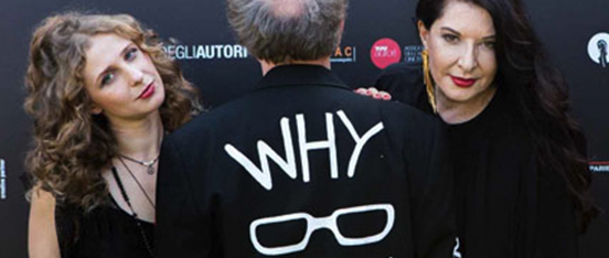 """Still of Venice 2018 """"Why Are We Creative"""" interview"""